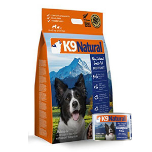 buy k9 natural dog food
